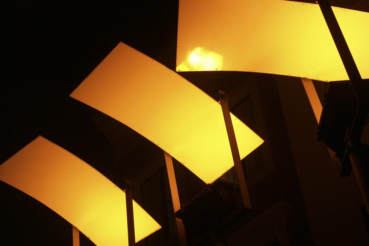 Urok lamp z betonu